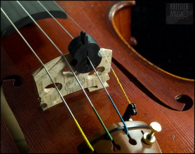 画像1: バイオリン・ビオラ用 弱音器◆バイオリン型ミュート◆演奏用