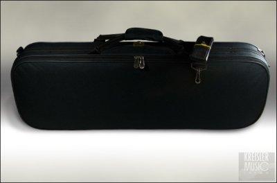 画像1: 【訳あり特価】40%オフ! バイオリンケース◆角型 超軽量◆黒  1/8サイズ III