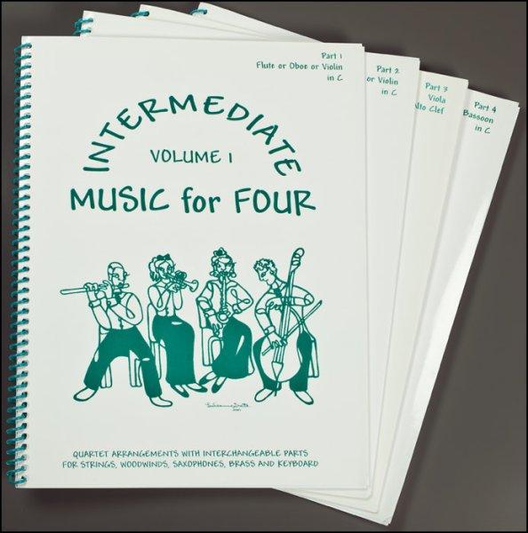 画像1: クラシック曲集◆やさしい弦楽四重奏(2VN・VA・CL)◆バロック〜ロマン派まで有名曲満載♪ (1)