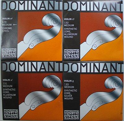 画像1: バイオリン弦 41%オフ!◆ドミナント Dominant◆1/2-4/4サイズ 4弦セット