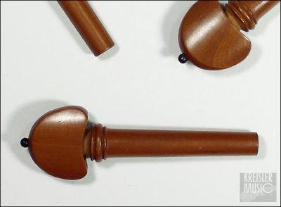 画像2: バイオリン用 糸巻き(ペグ)◆本柘(つげ)◆Hillスタイル 4本セット