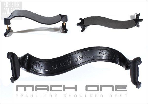 画像1: バイオリン肩当て◆マッハワン プラスチック製◆超軽量!3/4〜4/4サイズ (1)