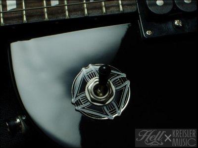 画像1: トグルスイッチプレート Gibson(ギブソン)/Epiphone(エピフォン)など対応◆Surfer's Cross