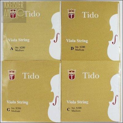 画像1: ビオラ弦◆ティドー TIDO◆4弦セット
