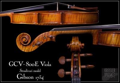 画像2: GCV-800E ビオラ ◆1734 Gibson ストラディバリ 16インチ V