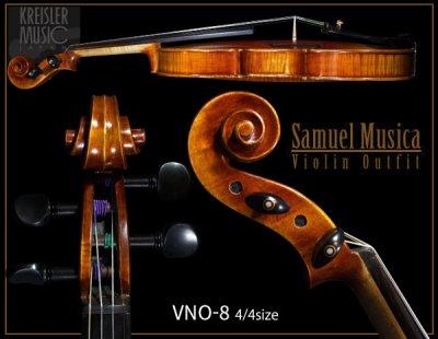 画像2: 【訳あり特価】Samuel Musica◆ VNO-8 バイオリンセット ◆4/4サイズ