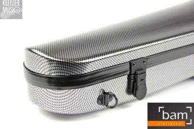 画像2: BAM ビオラケース◆ハイテック Hightech Contoured 2200XL シルバーカーボン