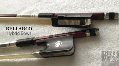 画像2: ビオラ弓◆Bellarco ハイブリッド Shield◆カーボン+ペルナンブーコ