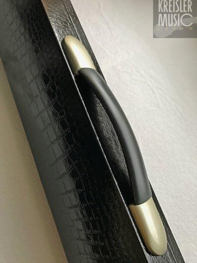 画像2: 弓ケース◆6本収納 オールマイティー(バイオリン・ビオラ・チェロ弓用)◆ブラックレザー調 高級感あり♪