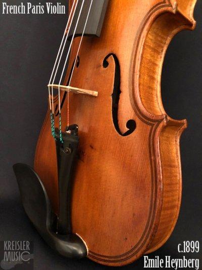 画像3: フランス製オールド◆バイオリン Paris c.1899 Emile Heynberg 7/8サイズ