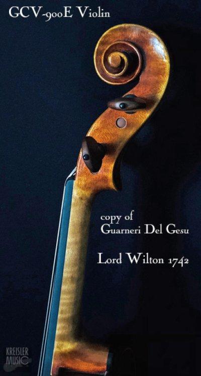 画像2: GCV-900E バイオリン◆欧州材 1742 Lord Wilton ガルネリ I