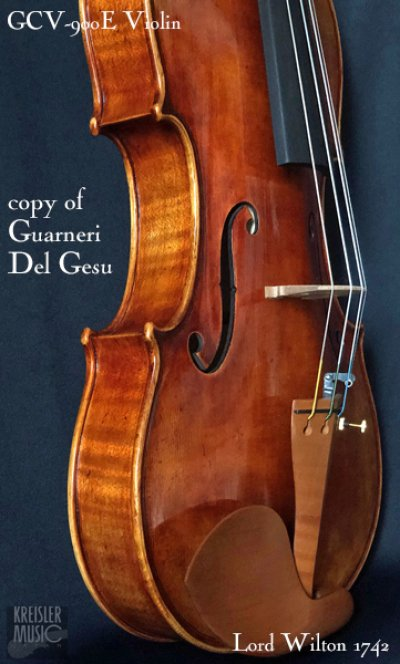 画像3: GCV-900E バイオリン◆欧州材 1742 Lord Wilton ガルネリ I