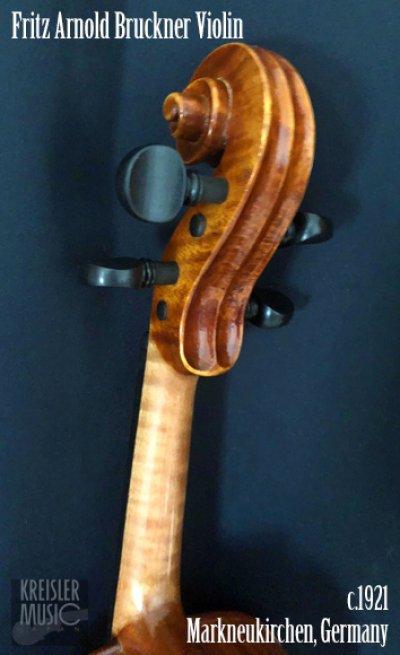 画像2: ドイツ製オールド◆バイオリン Germany c.1921 Fritz Arnold Bruckner