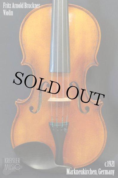 画像1: ドイツ製オールド◆バイオリン Germany c.1921 Fritz Arnold Bruckner (1)