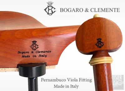 画像1: Bogaro&Clemente ボガーロ&クレメンテ◆最高級フィッティングセット ビオラ用◆ ペルナンブーコ材