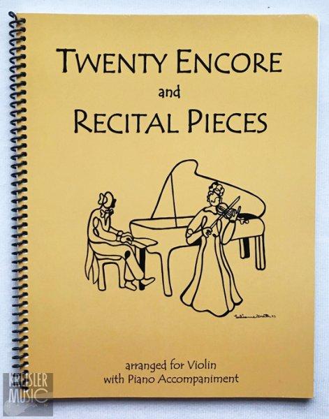 画像1: リサイタル&アンコール曲集◆バイオリン & ピアノ伴奏◆有名曲満載♪ (1)