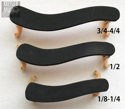 画像3: バイオリン肩当て◆上質木製・真鍮◆1/8〜4/4サイズ