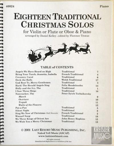 画像1: クリスマス曲集◆バイオリン & ピアノ伴奏◆おなじみのX'mas定番揃い♪