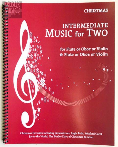 画像1: クリスマス曲集◆やさしい二重奏 バイオリン2台用◆おなじみのX'mas定番揃い♪ (1)