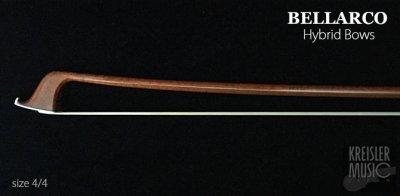 画像1: チェロ弓◆Bellarco ハイブリッド Shield◆カーボン+ペルナンブーコ 4/4サイズ