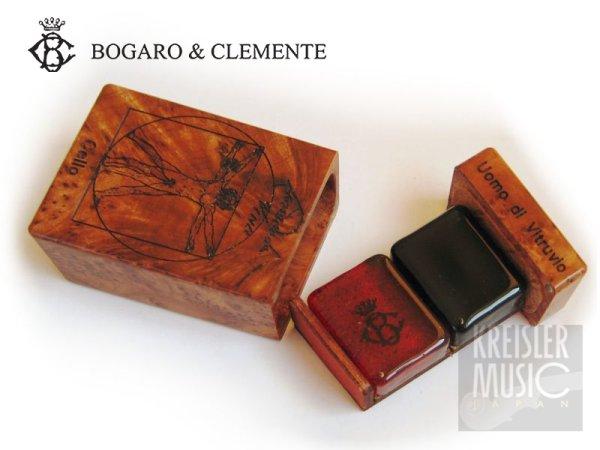 画像1: 松脂◆Bogaro & Clemente ボガーロ&クレメンテ◆バイオリン/ビオラ用、チェロ用 2種◆角型 Vitruvio ウィトルウィウス (1)