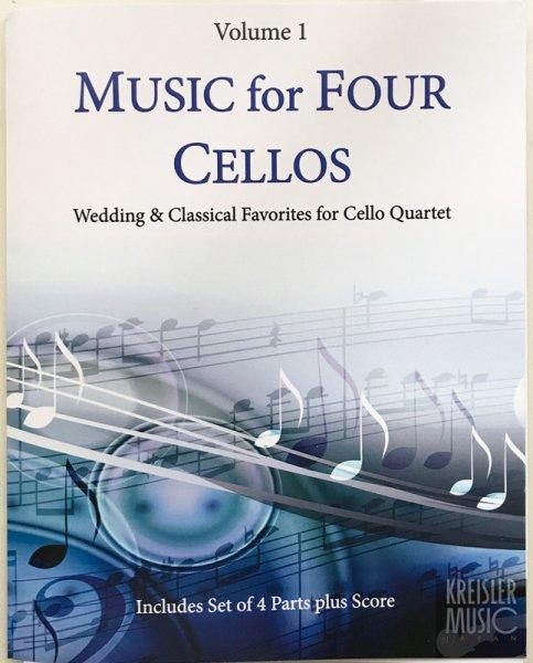 画像1: 結婚式&クラシック曲集◆四重奏 チェロ4台用◆有名曲満載♪ (1)