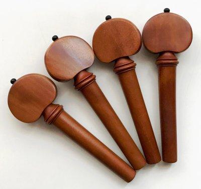 画像3: バイオリン用 糸巻き(ペグ)◆本柘(つげ)◆Hillスタイル 4本セット
