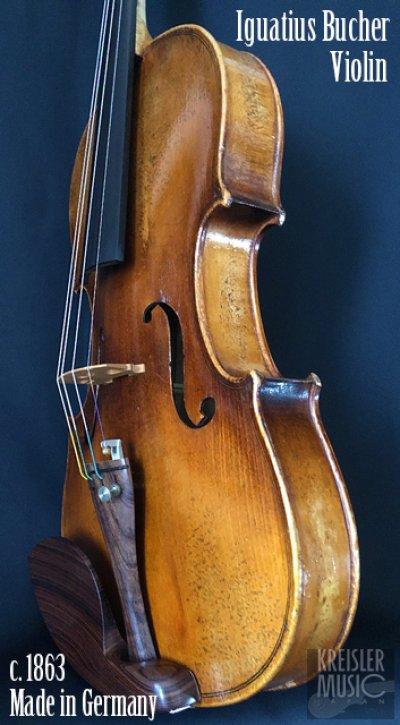 画像2: ドイツ製オールド◆バイオリン Germany c.1863 Iguatius Johannes Bucher