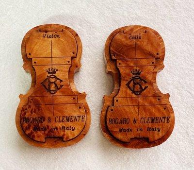 画像3: 松脂◆Bogaro & Clemente ボガーロ&クレメンテ◆バイオリン/ビオラ用、チェロ用 2種