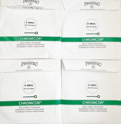 画像1: コントラバス弦 50%オフ!◆クロムコア Pirastro Chromcor◆4弦セット