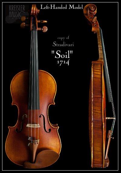 画像1: GCV-800EL 左利き用バイオリン◆ストラディバリ