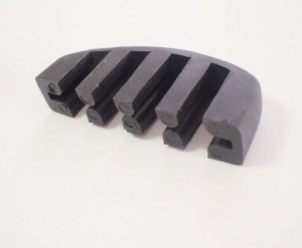 画像1: バイオリン用 弱音器◆ウルトラミュート型◆練習用・樹脂製 (1)