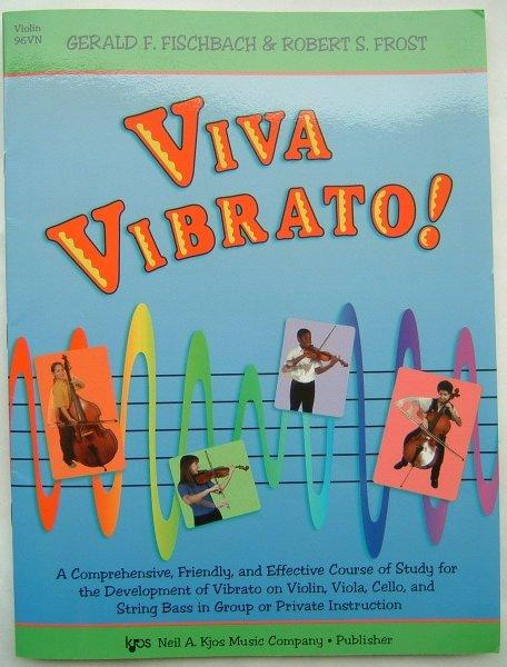 画像1: 必見! バイオリン教本◆ビブラート習得教本◆Viva Vibrato! (1)