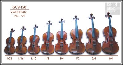 画像2: 優秀個体! GCV-150 バイオリン セット◆4/4サイズ