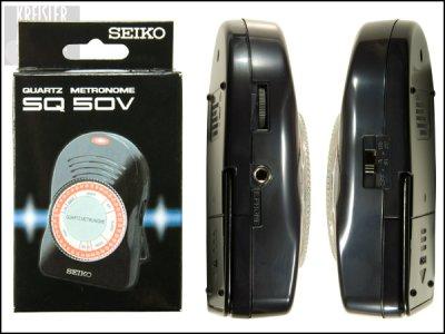 画像1: SEIKO メトロノーム SQ50V◆カチカチ音が大!◆ダイヤル式