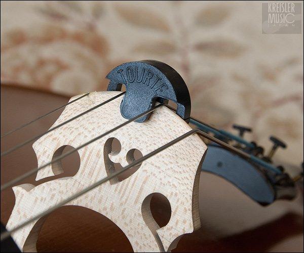 画像1: チェロ用 弱音器◆トルテミュート 2つ穴◆演奏用 (1)