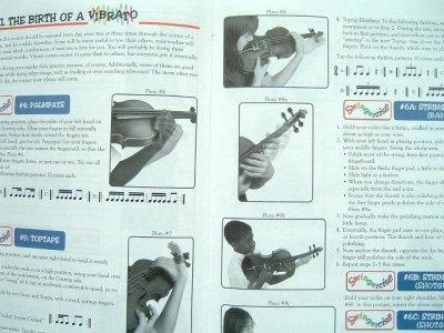 画像1: 必見! バイオリン教本◆ビブラート習得教本◆Viva Vibrato!