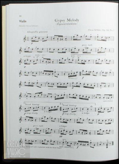 画像1: バイオリン小品集◆クラシックの夕べ♪ ピアノ伴奏譜付き